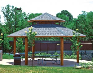 Wood Picnic Shelter http://www.georgiamountainbuilders.com/pavilions.htm